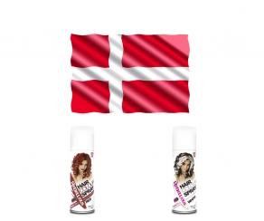 WM Fan Haarspray - Dänemark