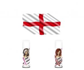 WM Fan Haarspray - England
