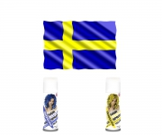 WM Fan Haarspray - Schweden