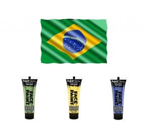 WM Fan Schminke - Brasilien