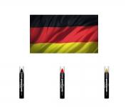 WM Fan Schminke Stifte - Deutschland